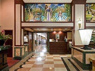 Edison Hotel i New York - Reception