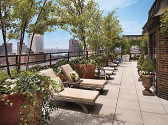 Hudson Hotel i New York - Takterrass