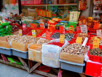 Chinatown i NYC - Kinesiska skyltar