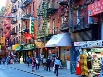 Chinatown i NYC - Affärer