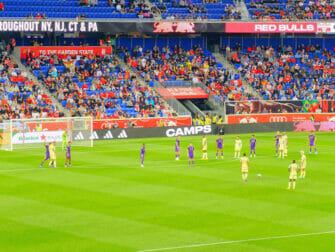 New York Red Bulls - Fotbollsmatch