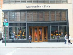 Abercrombie and Fitch i New York