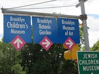 Brooklyn i NYC - gatuskyltar