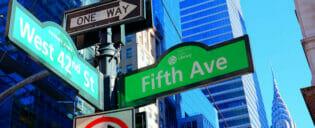 Att hitta i New York