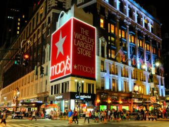 Macys i NYC - Fasad