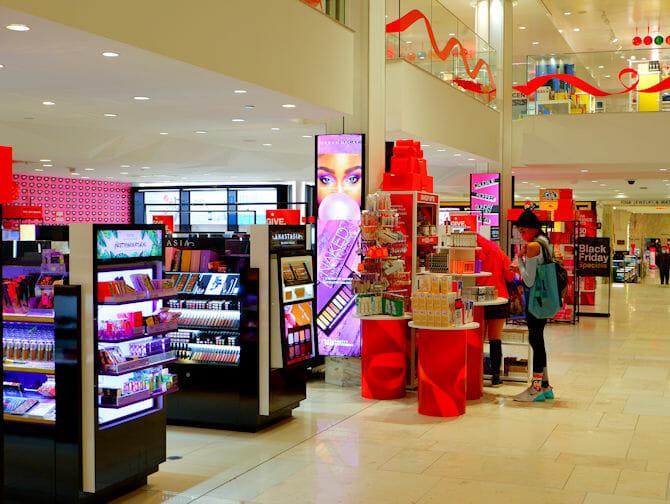 Macys in NYC - Insidan