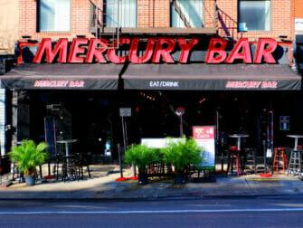 Midtown nattliv i NYC - Mercury SportsBar