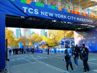 New York Marathon - Mål