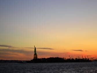 Twilight båttur i NYC - Skymning