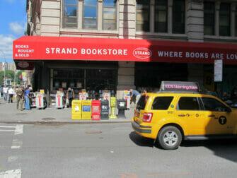 Strand bokhandel i New York - Bokrea