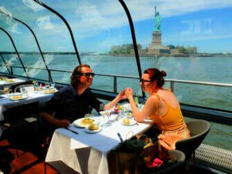 Middagskryssningar på Alla hjärtans dag i New York - Frihetsgudinnan