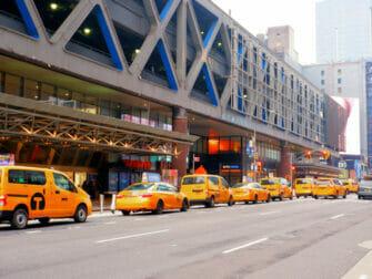 Taxi i New York - Fifth Avenue
