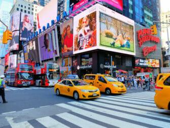 Taxi i New York - Rusningstrafik