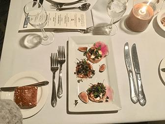 Middagskryssningar på julafton i New York - Middag