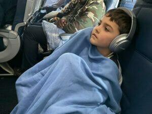 Flyga med barn till New York