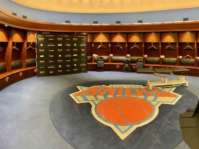 Madison Square Garden i New York - All Access Tour Knicks