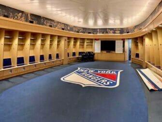 Madison Square Garden i New York - All Access Tour Rangers