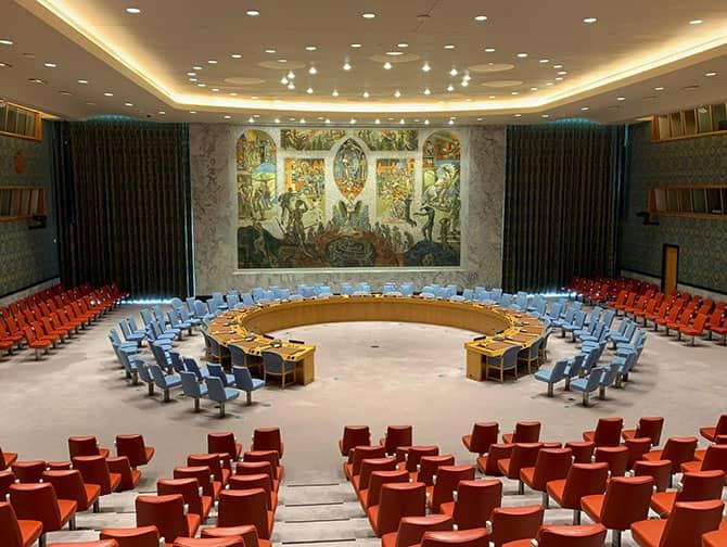 Förenta Nationerna i - Security Council Chamber