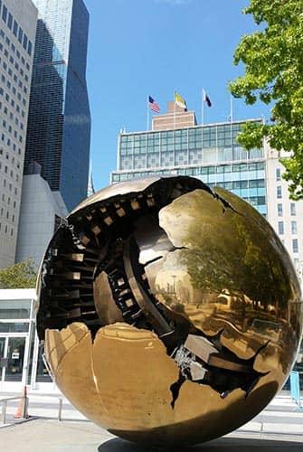 Förenta Nationerna i New York - Glob