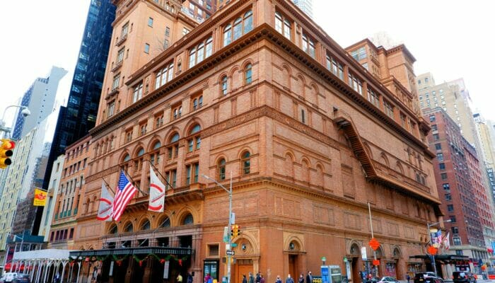 Carnegie Hall i New York - Concert Hall
