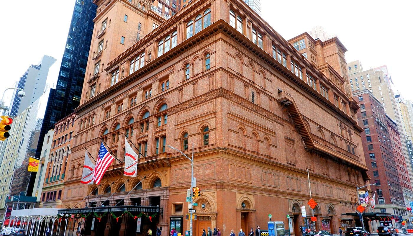 Carnegie Hall i New York - Concert Hall