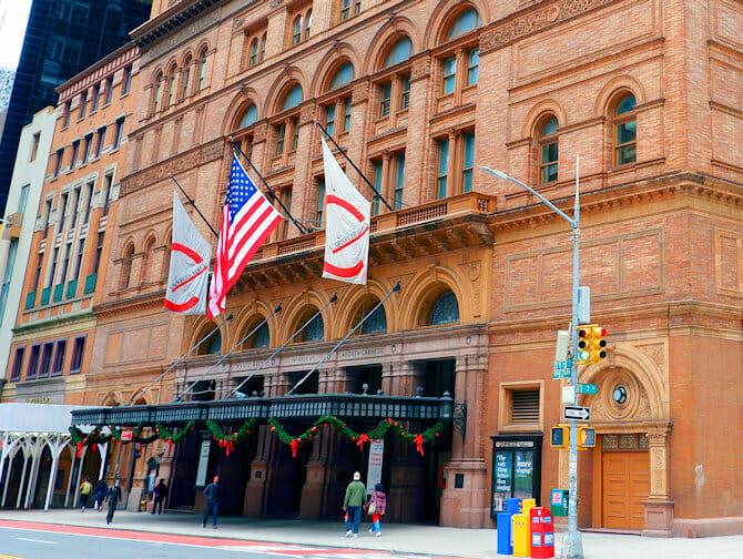 Carnegie Hall i New York