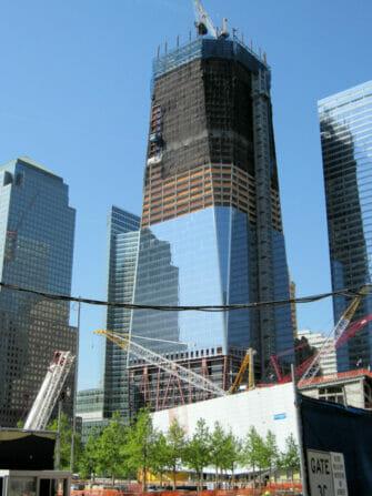 Freedom Tower i NYC - Byggnadskonstruktion