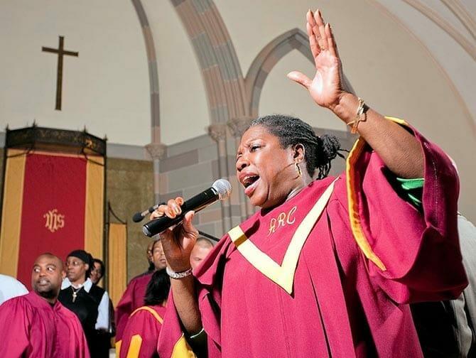 Guidad Gospel tur i Harlem New York