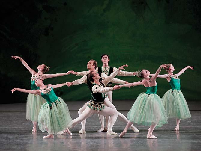 New York City Ballet biljetter - Serenade in Green