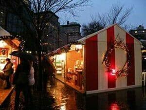 Julmarknader i New York