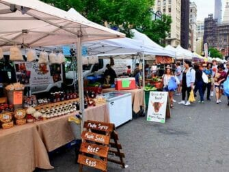 Marknader i New York - Union Square Greenmarket