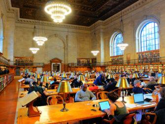 New York Public Library - Läsrum