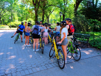 Central Park i New York - Guidad cykeltur