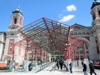 Ellis Island i New York - Ingången till museet