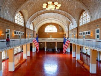 Ellis Island i New York - Registry Room