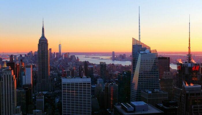 Top of the Rock biljetter - Utsikt vid solnedgång