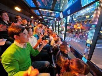 The Ride i NYC - Passagerare