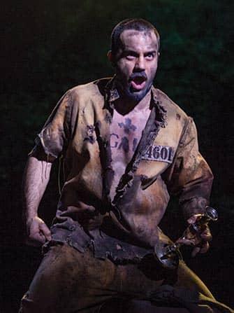 Les Miserables i NYC - Jean Valjean