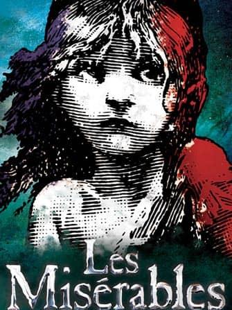 Les Miserables i NYC - Affisch