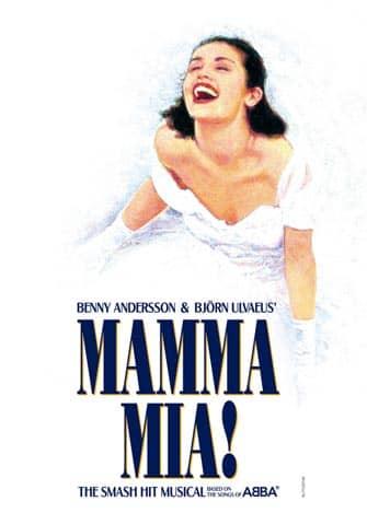 Mamma Mia i NYC - Affisch