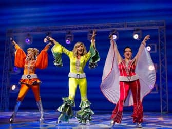 Mamma Mia i NYC - Broadwaymusikal