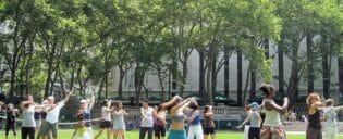 Gratis danslektioner i New York