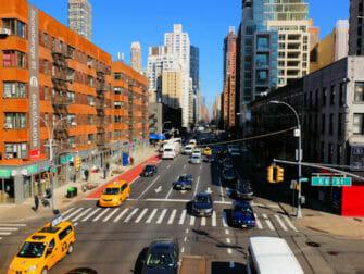Upper East Side Shopping i NYC - Utsikt