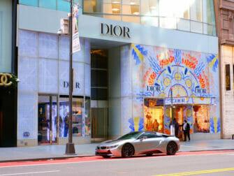 Upper East Side Shopping i NYC - Skyltfönster