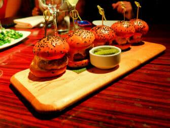 Basta hamburgarna i New York - STK Sliders