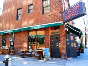 Bästa hamburgarna i New York - Corner Bistro