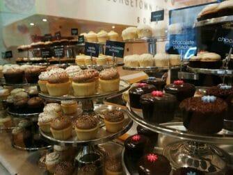 Bästa cupcakes i New York - Georgetown Cupcakes med glasyr
