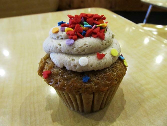 Bästa cupcakes i New York - Mollys Cupcakes exempel