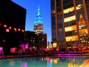 Romantiska restauranger och barer i New York
