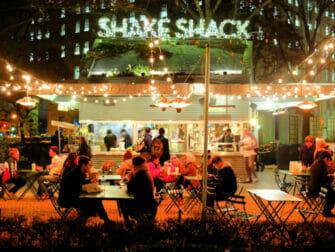 Bästa hamburgarna i New York - Shake Shack